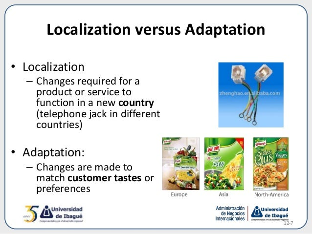 One size does not fit all: Localization vs. standardization in retail