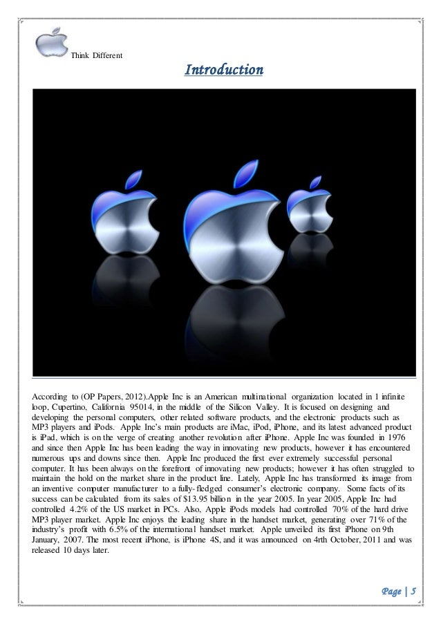 apple inc international marketing strategy China, which is the company's second largest market, accounted for 16 percent of apple's sales during the past quarter, with $45 billion in revenue, a.