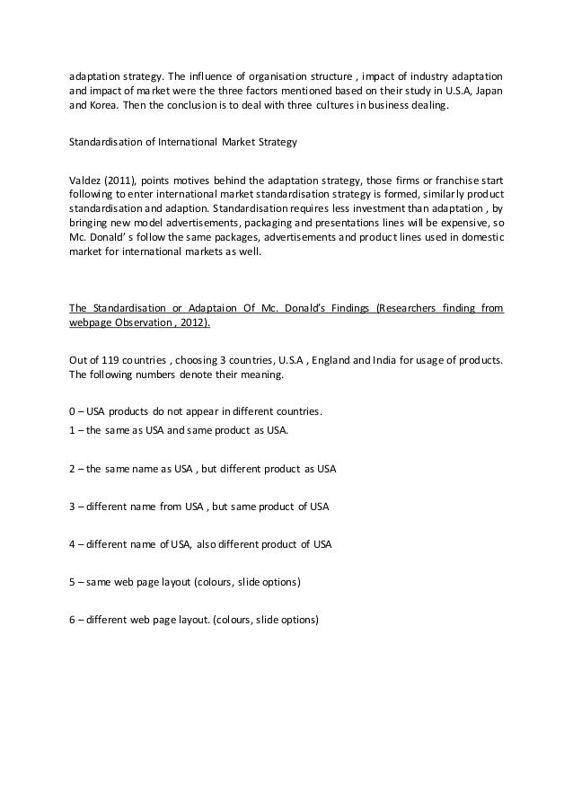 international marketing assignment This course introduces students to core topics in international marketing  the  group assignment and exam provide opportunities to demonstrate advanced.