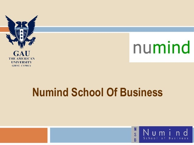 Numind School Of Business