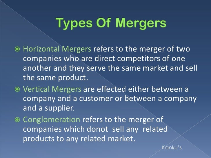 merger nd acquisition conclusion - mergers and acquisitions acquisitions are the absorption of a smaller firm by a larger firm, while a merger is the combination of two firms to form a single entity in a merger, there is often an exchange of stock between the companies where one company issues shares to the shareholders of the other company at a certain ratio.