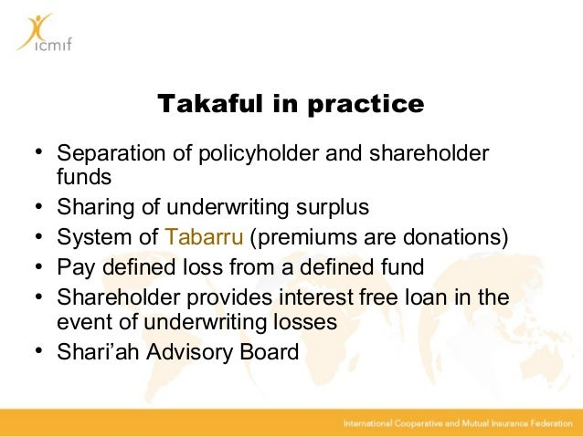 takaful assignment