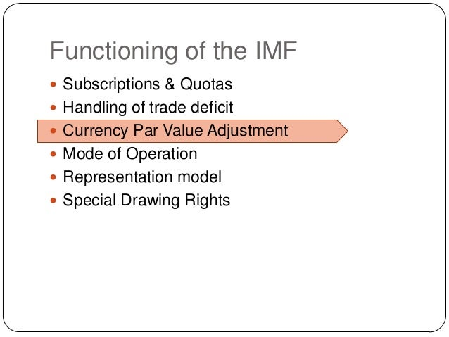 the goals of imf The international monetary fund, or imf, and the world bank's forerunner were the bank has pledged its support for un-backed millenium development goals to reduce.