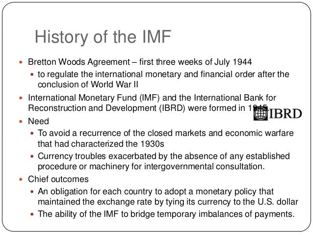 International Monetary Fund (IMF): Objectives, Organisation and Other Details