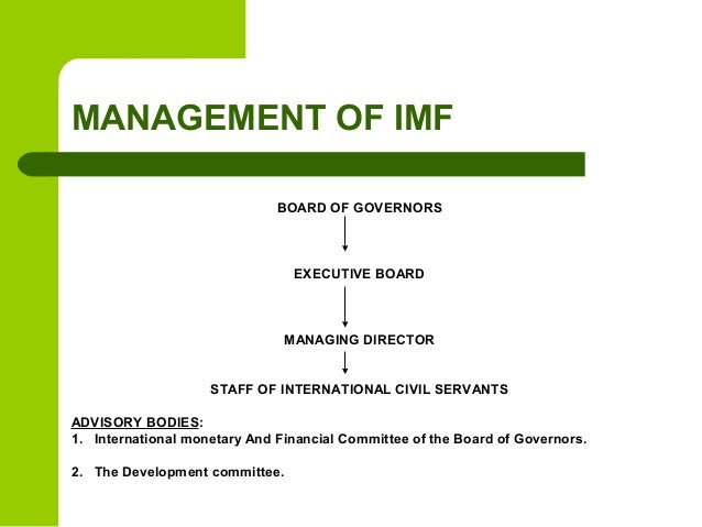 how imf has assisted in the underdevelopment First the country has to submit a letter of intent, specifying its economic plan to recover and repay the imf loan the executive board then agree with the country the terms and conditions.