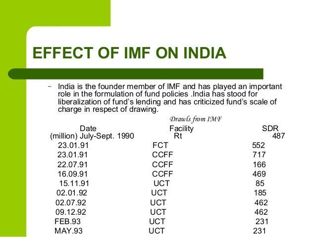 international monetary fund and india