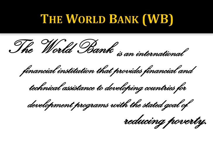 an essay on the international monetary fund imf and the world bank International monetary fund and world bank francis j gavin if the success of institutions were judged by the breadth and passion of their critics, then both the international monetary fund (imf) and the international bank for reconstruction and development (world bank) would count among the most effective multilateral organizations in the world.