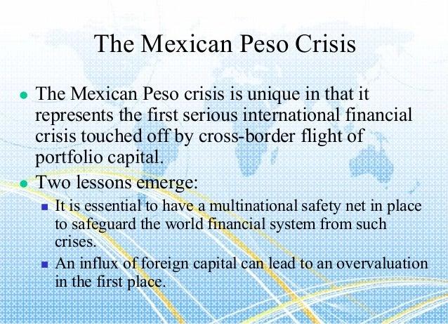 1994 economic crisis in Mexico