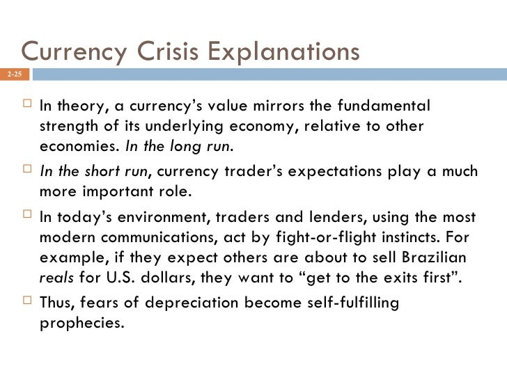 what role did expectations play in the asian currency crisis The only reason behind the gulf crisis may not be trump's 'selling security to rich countries' policy the financial deal between the parties might also have played a big role home politics did trump's 'selling security to rich countries' policy cause gulf crisis fahrettin altun.