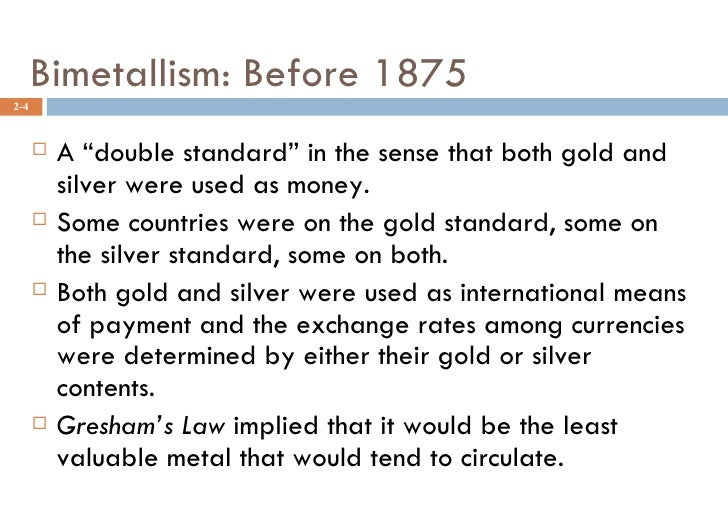 International Monetary System Ppt Bec Doms Mba Bagalkot