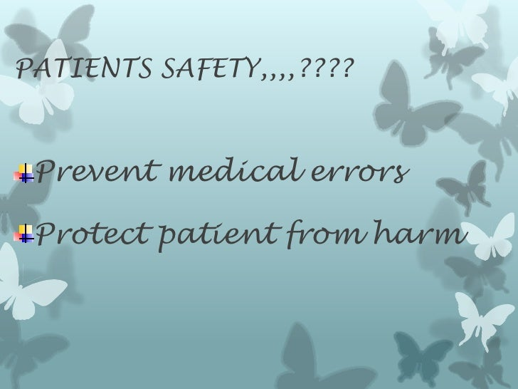 International patient safety rems lecture Slide 2