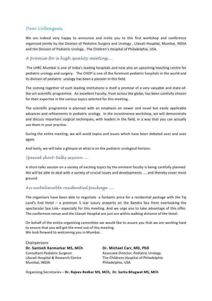 International Pediatric Urology Update