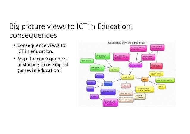 Bigpicture viewstoICTin Education: systems