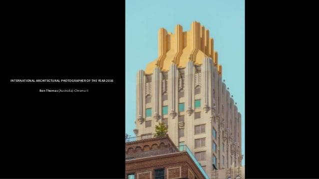 ARCHITECTURE: CITYSCAPES:1ST PLACE WINNER. DAVID MARTIN CASTAN-Golden hour