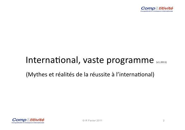International Pme Diaporama 2011 Pdf Slide 2