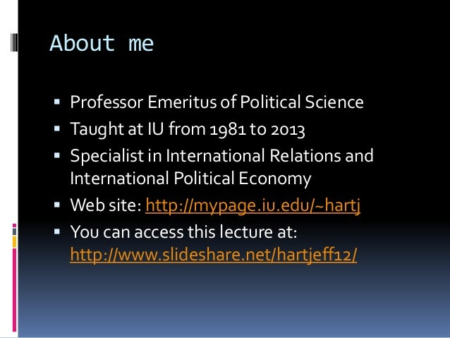 International politics in the age of the internet Slide 2