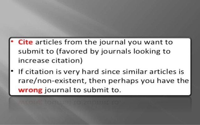 Be sure to adjust details before resubmission:  Cover letter,  Reference format,  Other journal-specified details