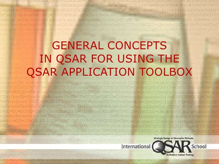 General Concepts in QSAR for Using the  QSAR Application Toolbox <br />