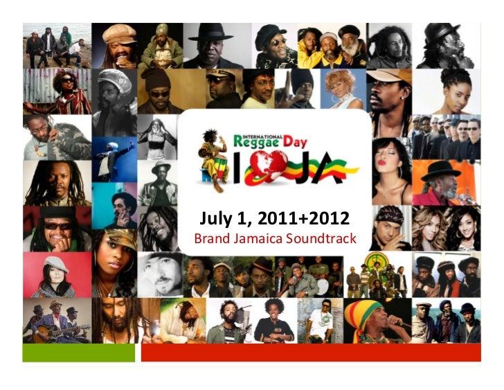 July 1, 2011+2012 Brand Jamaica Soundtrack