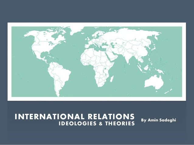 International relations upcoming threat is