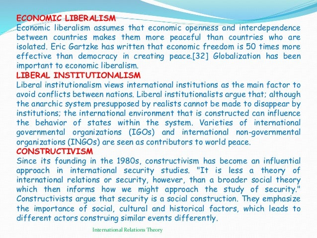 realism and liberalism 2 essay Introduction to realism and liberalism want music and videos with zero ads get youtube red.