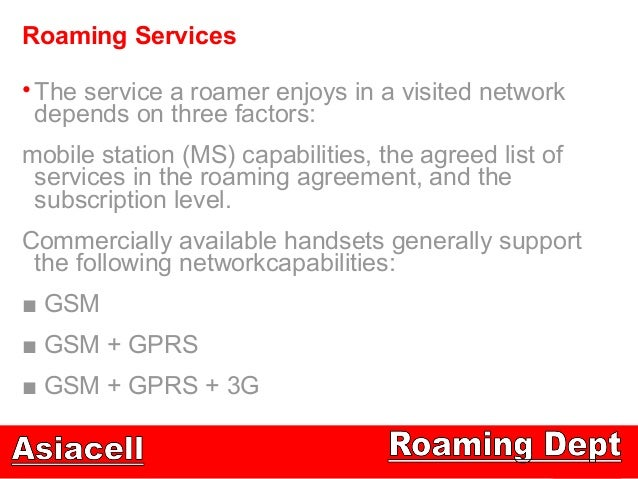 International Roaming Technical View