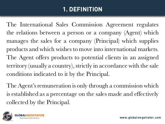 sales commision