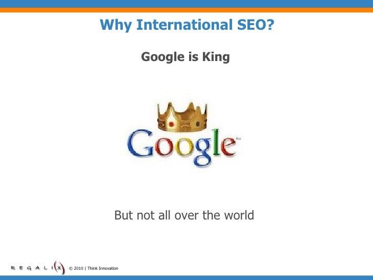 International SEO Best Practices 2010 Slide 3