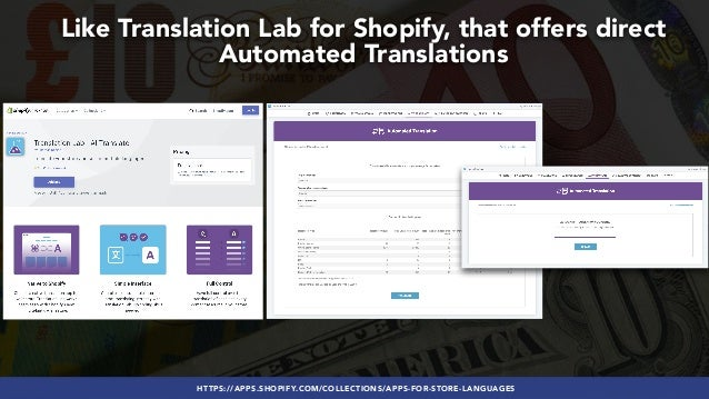 #GLOBALECOMMERCESEO BY @ALEYDA FROM #ORAINTI AT #SEJSUMMITHTTPS://APPS.SHOPIFY.COM/COLLECTIONS/APPS-FOR-STORE-LANGUAGES Li...