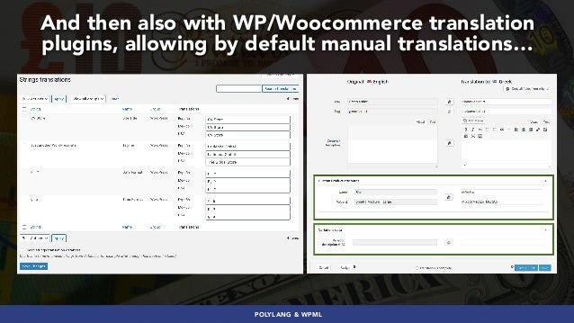 #GLOBALECOMMERCESEO BY @ALEYDA FROM #ORAINTI AT #SEJSUMMIT And then also with WP/Woocommerce translation plugins, allowing...