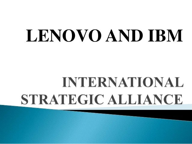 LENOVO AND IBM
