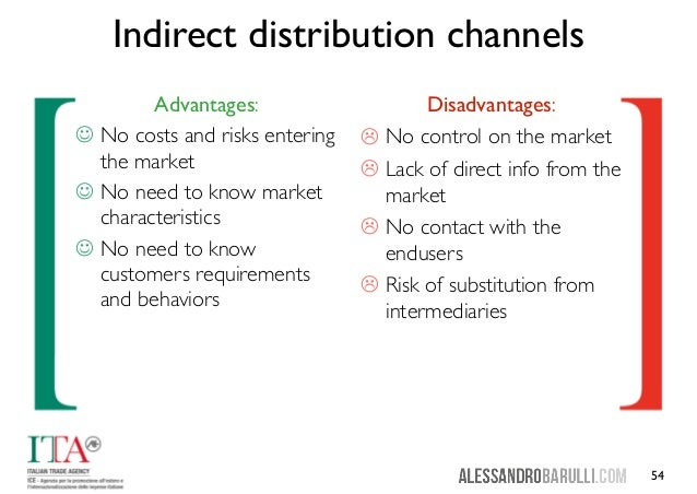 i the importance of channels of distribution Distribution channels is important because: firstly, it affects sales - if it's not available it can't be sold most customers won't wait.