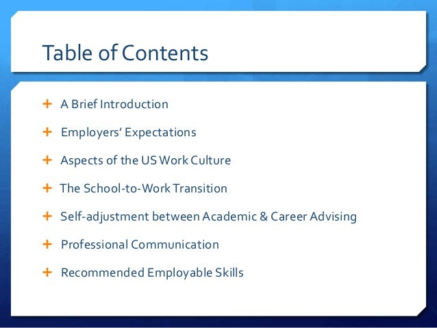 Student experiences in the international collegiate