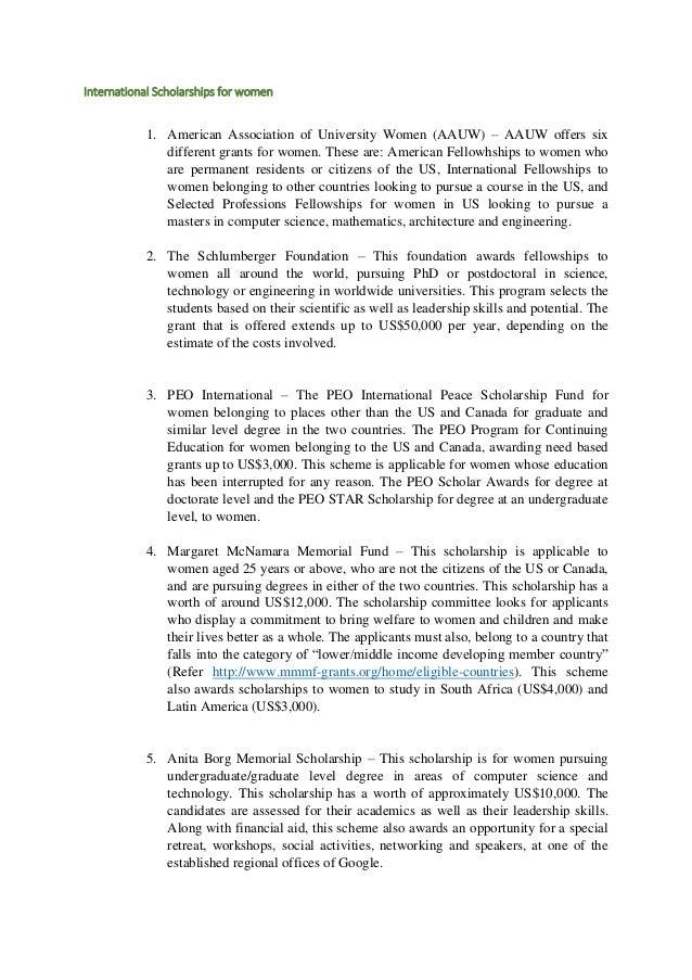 L'oreal Essay Scholarships img-1