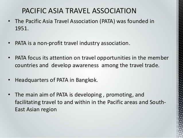 International tourism organization pacific asia travel association publicscrutiny Images