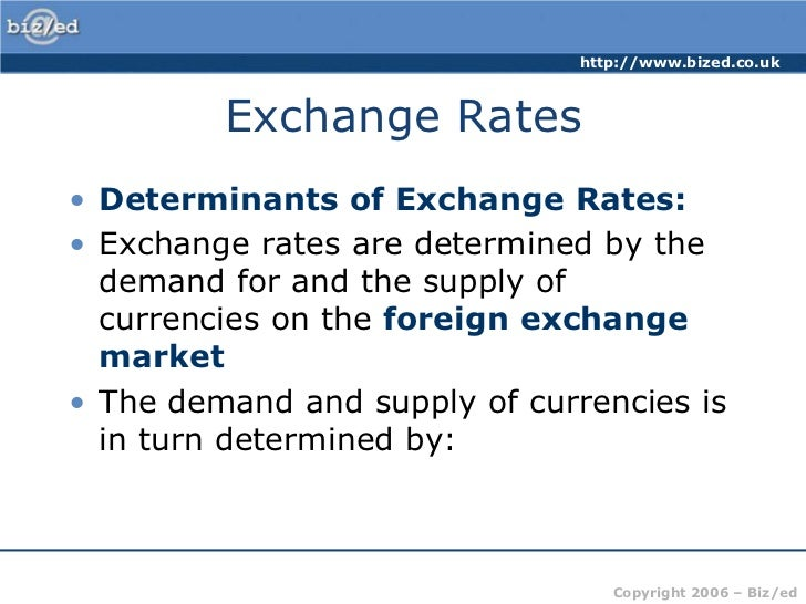 Trading exchange rates