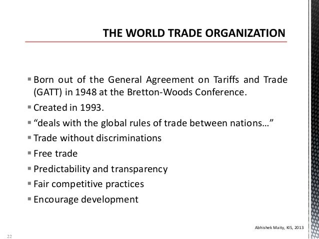 wto aims and objectives The wto dispute settlement system: objectives - procedures - experience  objectives of wto dispute settlement  the aim of the dispute settlement mechanism is to .