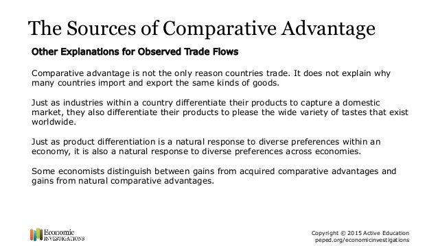 Lesson Plan: International Trade - ppt Summary - Economic