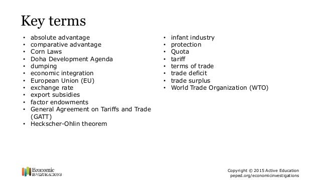 a study on gatt and wto economics essay The world trade organization (wto) deals with the global rules of trade between nations its main function is to ensure that trade flows smoothly, predictably and.