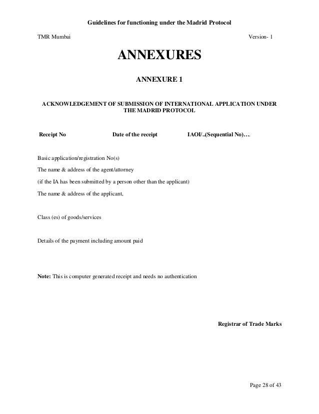 International Trademark WIPO Registration Guidelines under Madrid Pro…