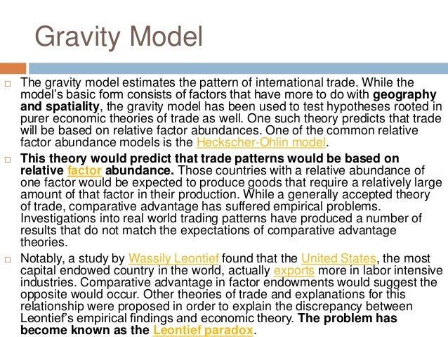 international trade pattern and competitive advantage The key distinction is that while comparative advantage seeks to explain patterns and gains from trade, the competitive advantage explains which firms, industries or nations will be winners in a global competition and how they can position for it.