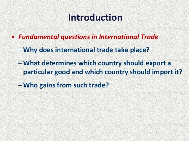 how would international trade theorists view the fair trade movement