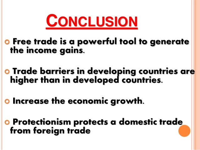 barriers of foreign trade
