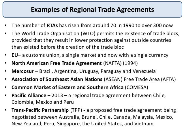 Aspects Of International Trade