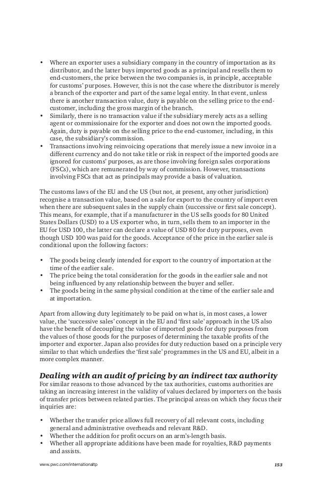 International transfer pricing 2015-2016