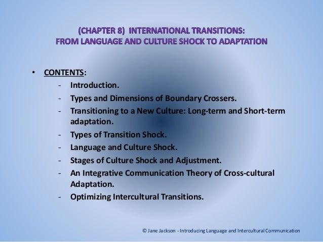 International transitions presentation