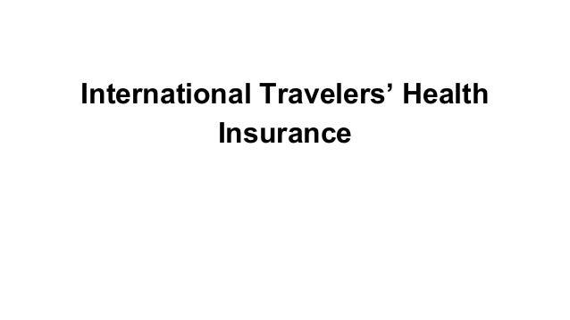 International Travelers' Health Insurance