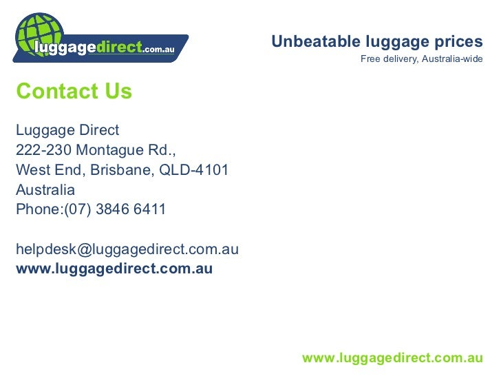 International Traveller Luggage Warranty
