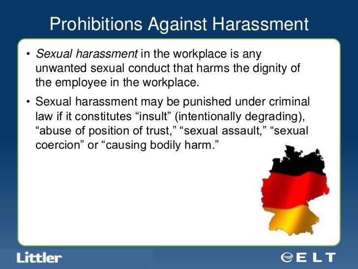 Best practice sexual harassment training