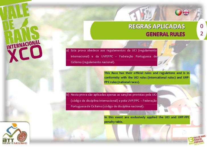 REGRAS APLICADAS                             0                                                             GENERAL RULES  ...